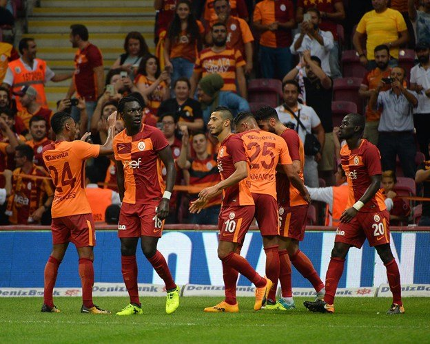 Galatasaray 4-1 Kayserispor (1. runde)
