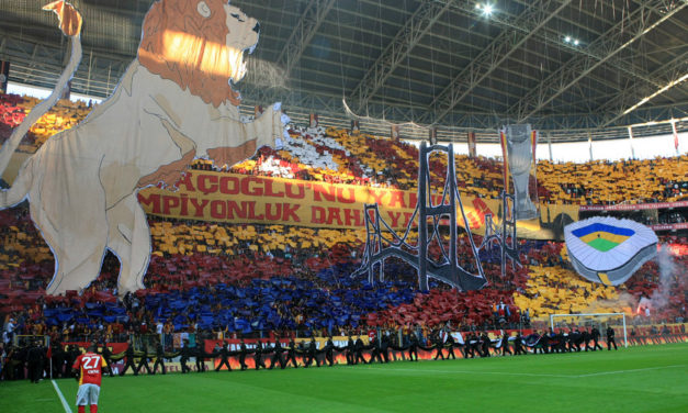 Før kampen – Galatasaray – Fenerbahce