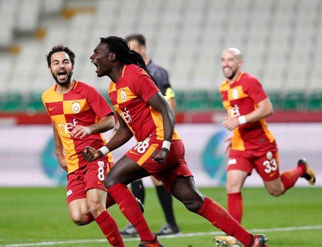 Konyaspor 0-2 Galatasaray (8. runde)