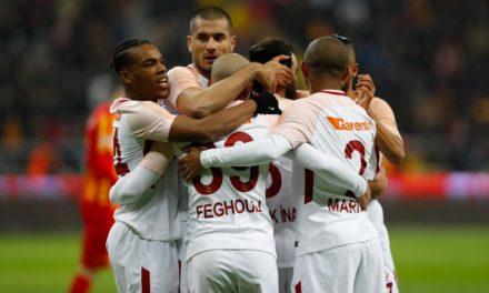 Kayserispor 1-3 Galatasaray (18. runde)