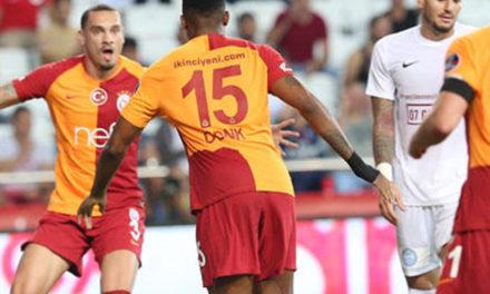 Antalyaspor 0-1 Galatasaray (8. runde)
