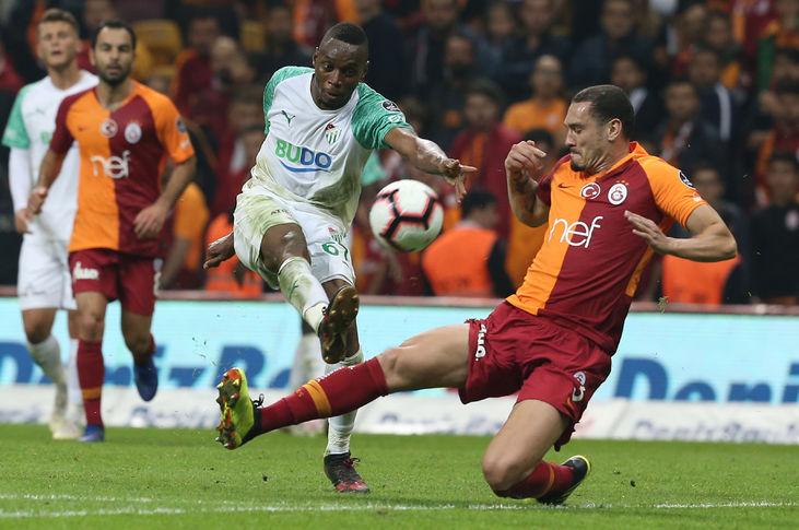 Galatasaray 1-1 Bursaspor (9. runde)