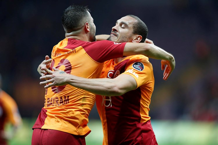 Galatasaray 1-0 Erzurumspor (7. runde)
