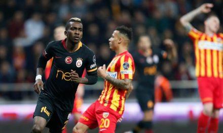 Kayserispor 0-3 Galatasaray (12. runde)