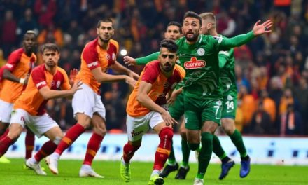 Galatasaray 2-2 Rizespor (15. runde)
