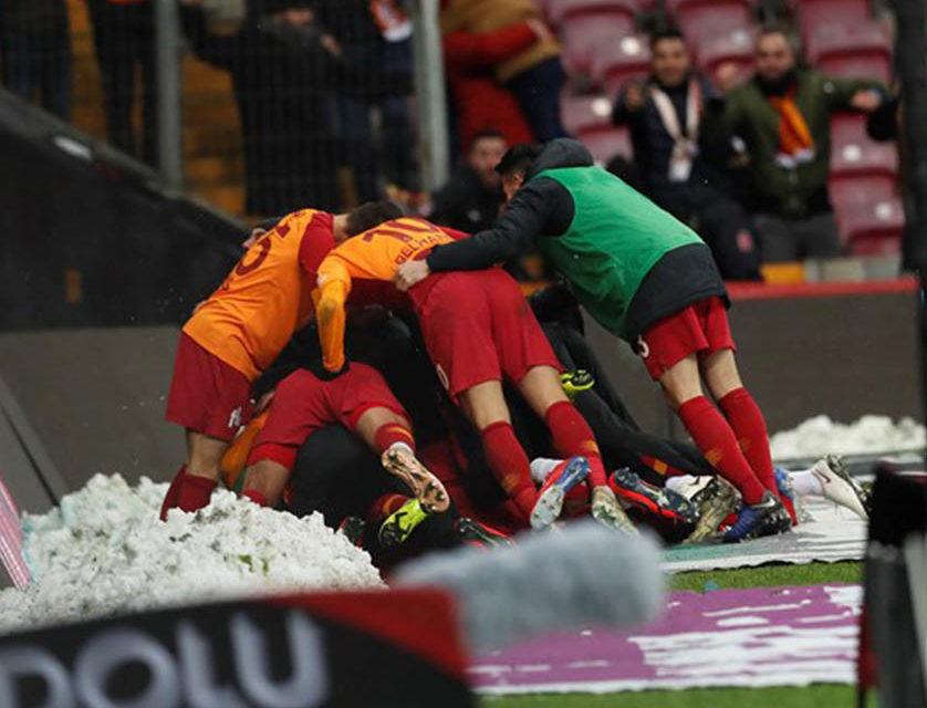 Galatasaray 1-0 Akhisarspor (23. runde)