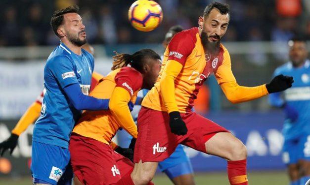Erzurumspor 1-1 Galatasaray (24. runde)