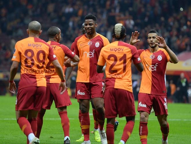 Galatasaray 5-0 Antalyaspor (25. runde)