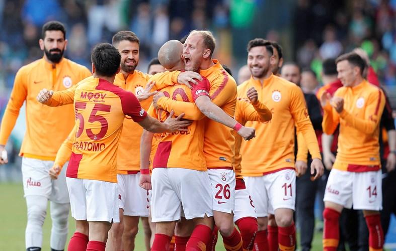 Rizespor 2-3 Galatasaray (32. runde)