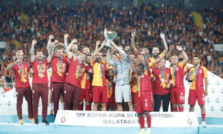 Galatasaray vant den tyrkiske Supercupen