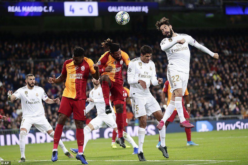 Real Madrid 6-0 Galatasaray (4. kamp)