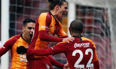 Galatasaray 5-0 Antalyaspor (17. runde)