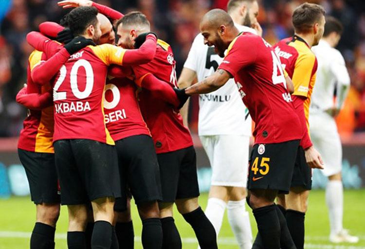 Galatasaray 2-1 Denizlispor (18. runde)