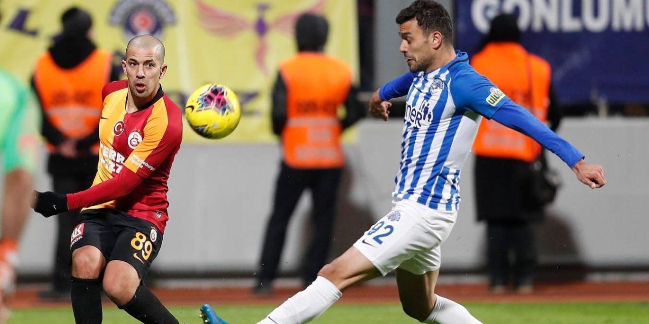 Kasimpasa 0-3 Galatasaray (21. runde)