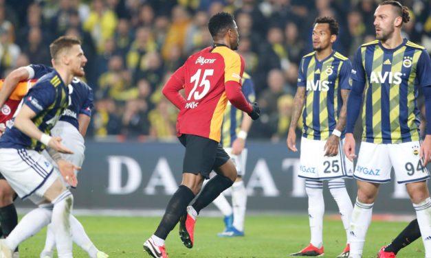Fenerbahce 1-3 Galatasaray (23. runde)