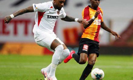Galatasaray 3-3 Gaziantep FK (28. runde)
