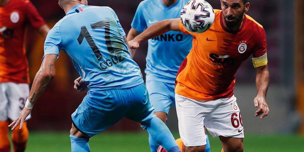 Galatasaray 3-1 Gaziantep FK (1. runde)