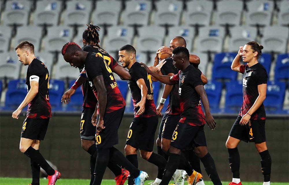 Basaksehir 0-2 Galatasaray (2. runde)