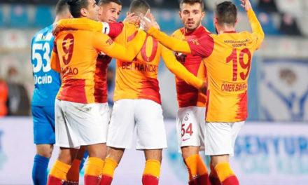 Erzurumspor 1-2 Galatasaray (6. runde)