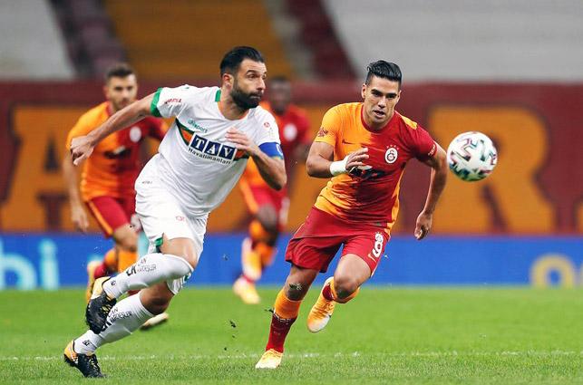 Galatasaray 1-2 Alanyaspor (5. runde)