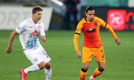 Rizespor 0-4 Galatasaray (10. runde)