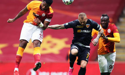 Galatasaray 1-1 Kayserispor (9. runde)