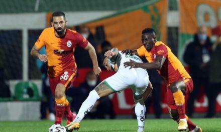 Alanyaspor 0-1 Galatasaray (25. runde)