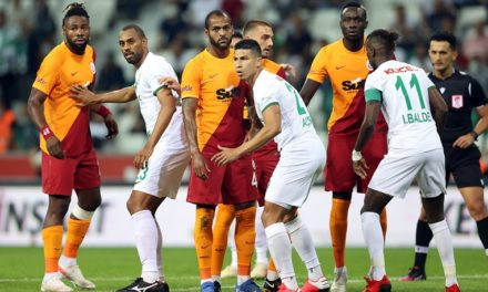 Giresunspor 0-2 Galatasaray (1. runde)