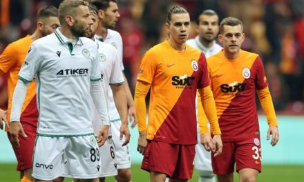 Galatasaray 1-0 Konyaspor (9. runde)